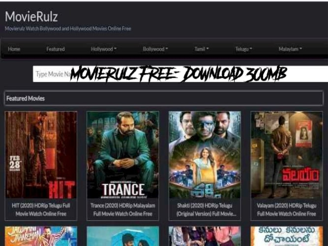 Movierulz Free – Download 300MB Movies - WhatIdea1