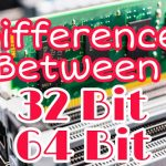 difference between 32 bit and 64 bit processor
