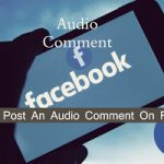 How do I upload a voice recording to Facebook? How| do you comment audio on Facebook?