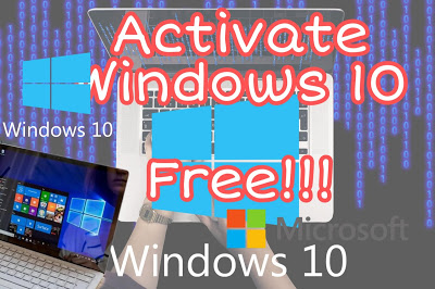 How to activate windows 10