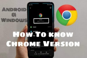 How To Know Chrome Version