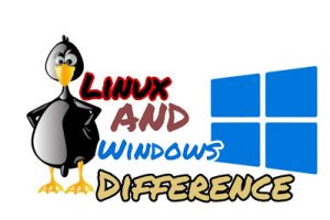 linux and windows difference