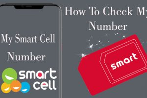 how to check own number in smart cell