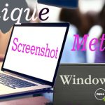 how to take screenshot in dell laptop