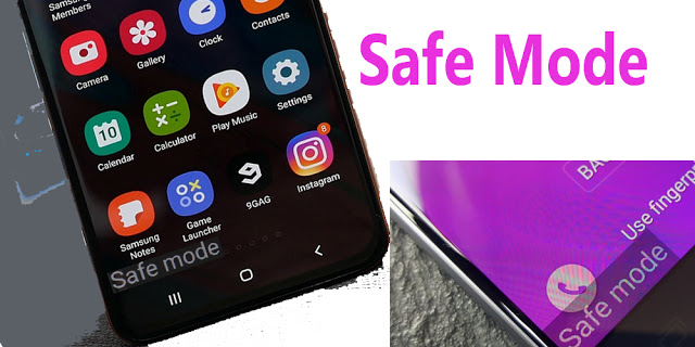 what is safe mode in mobile