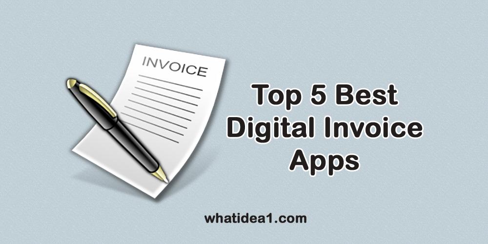 Best Digital Invoice App
