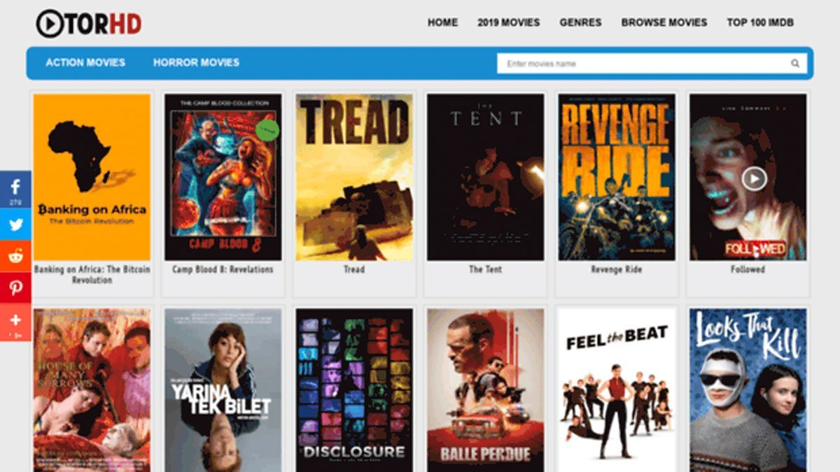 Tor HD: Download Free Action Movies with the Best guide in 2021