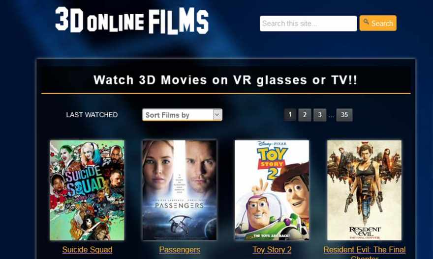 3D Online Films